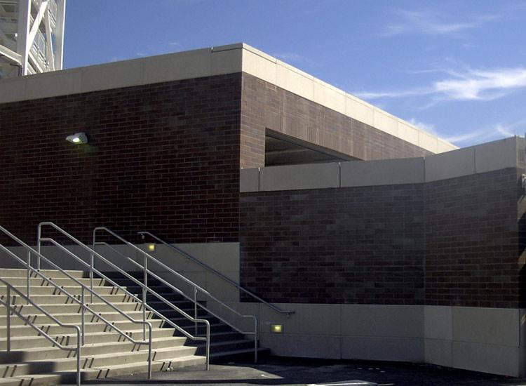 ARCIS panels Reser Stadium exterior view