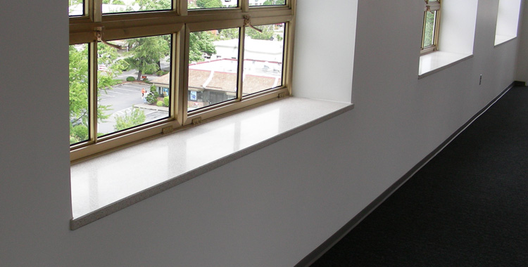ARCIS panels windowsills