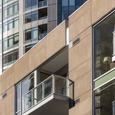 ARCIS panel rainscreens on Atwater Place