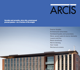 image of cover for arcis brochure