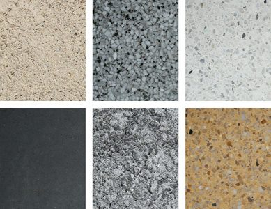 six of dozens of finishes available for ARCIS panels
